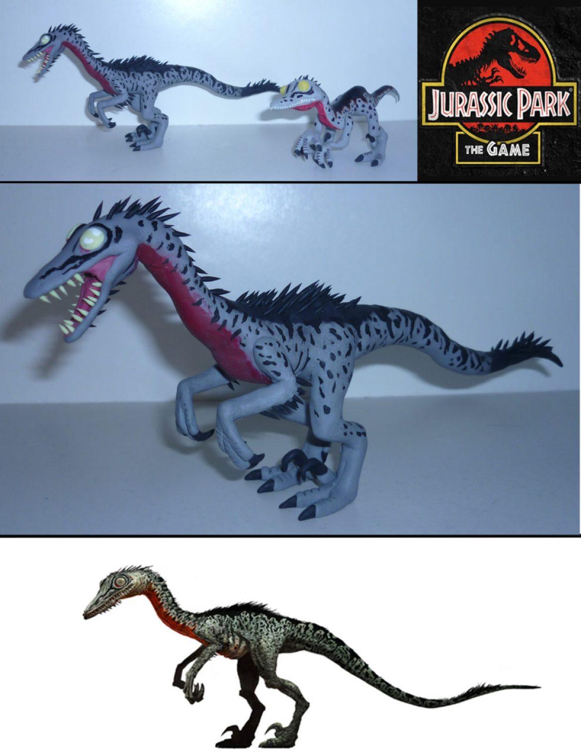 'Jurassic Park Troodon Sculpture'