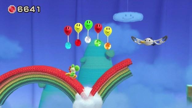 Yoshi's Woolly World - rainbow