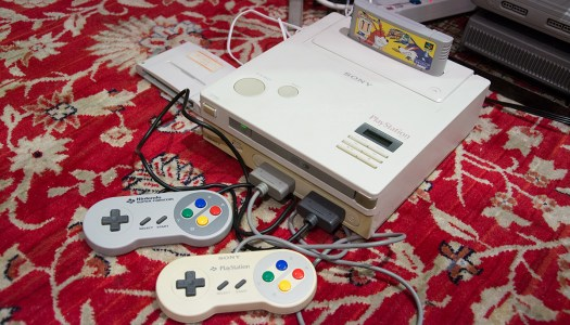 The SNES PlayStation is real and it works