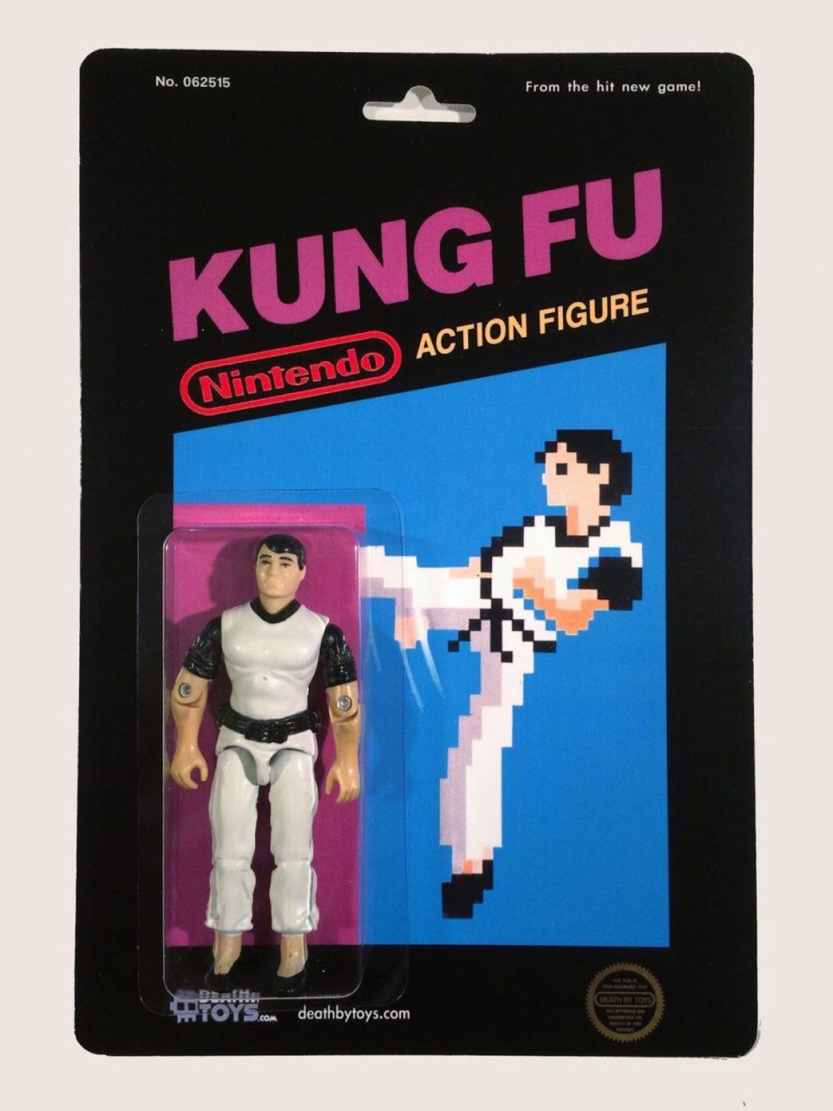 Custom Nintendo Kung Fu Figure