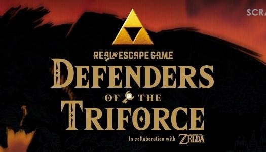 PR: Legend of Zelda Escape Room Experience Coming in 2017
