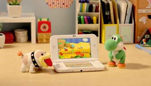 New Poochy & Yoshi's Woolly World Screenshots, Box Art