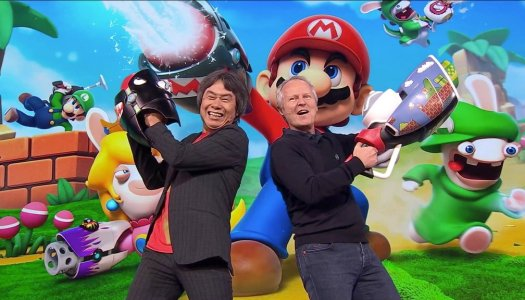 Mario + Rabbids Kingdom Battle Finally Unveiled By Ubisoft