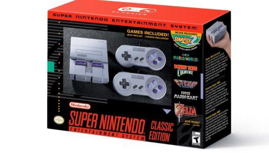 Nintendo Breaks Silence Regarding SNES Classic Preorders