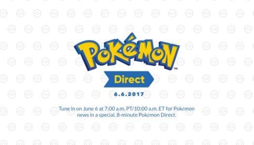 8-Minute Pokémon Direct Debuts Tomorrow, June 6