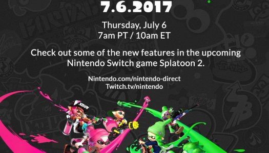 Splatoon 2 Direct happening this Thursday, July 6 7am PT/10am ET