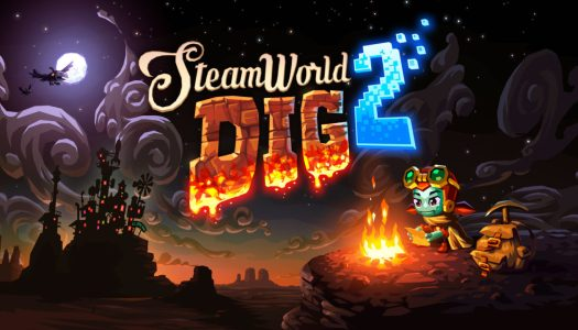 Check out the SteamWorld Dig 2 launch trailer