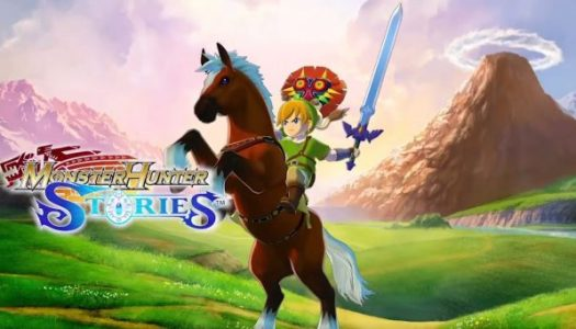 Check out the Monster Hunter Stories trailer for The Legend of Zelda DLC