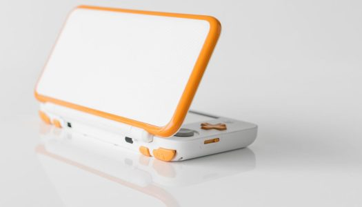 Orange and white New Nintendo 2DS XL coming to the US October 6