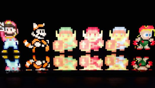 Pixel Pals: A Retro Light Show!