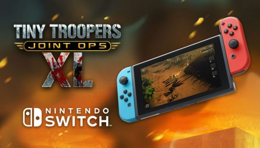 Twin-stick classic Tiny Troopers Joint Ops XL charges onto Nintendo Switch in 2017