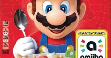 Kellogg's Super Mario Cereal will feature amiibo boxes