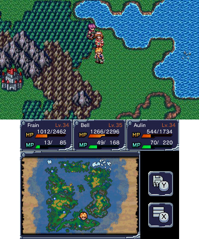 JRPG - Review: Machine Knight (3DS eShop) MK-map
