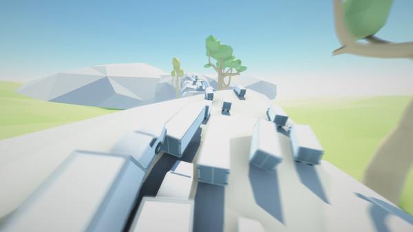 Clustertruck screenshot - it's a convoy