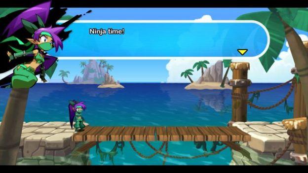 Shantae: 1/2 Genie Hero - ninja costume