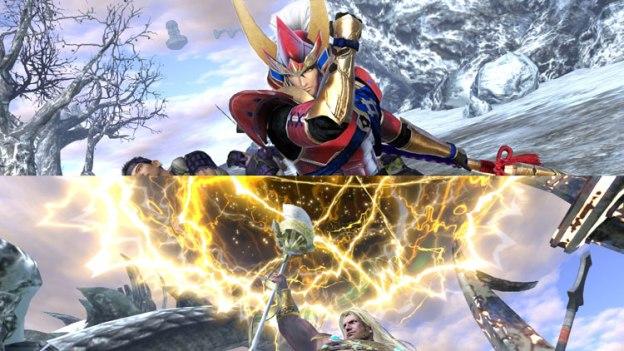 Warriors Orochi 4 - Split screen