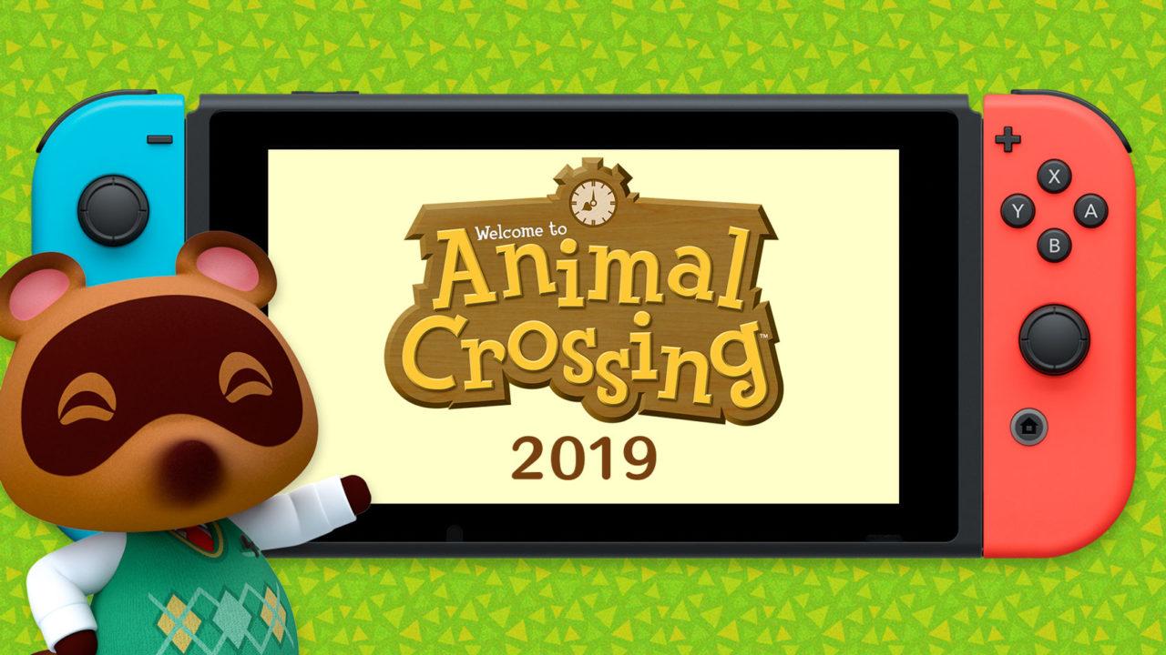 Animal Crossing Switch - Nintendo Direct