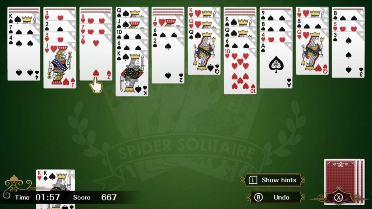 Spider Solitaire F
