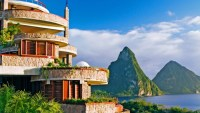 Romantic Spring Getaway at St Lucia's Jade Mountain Resort