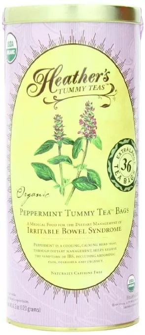 Heather's Peppermint Tummy Tea