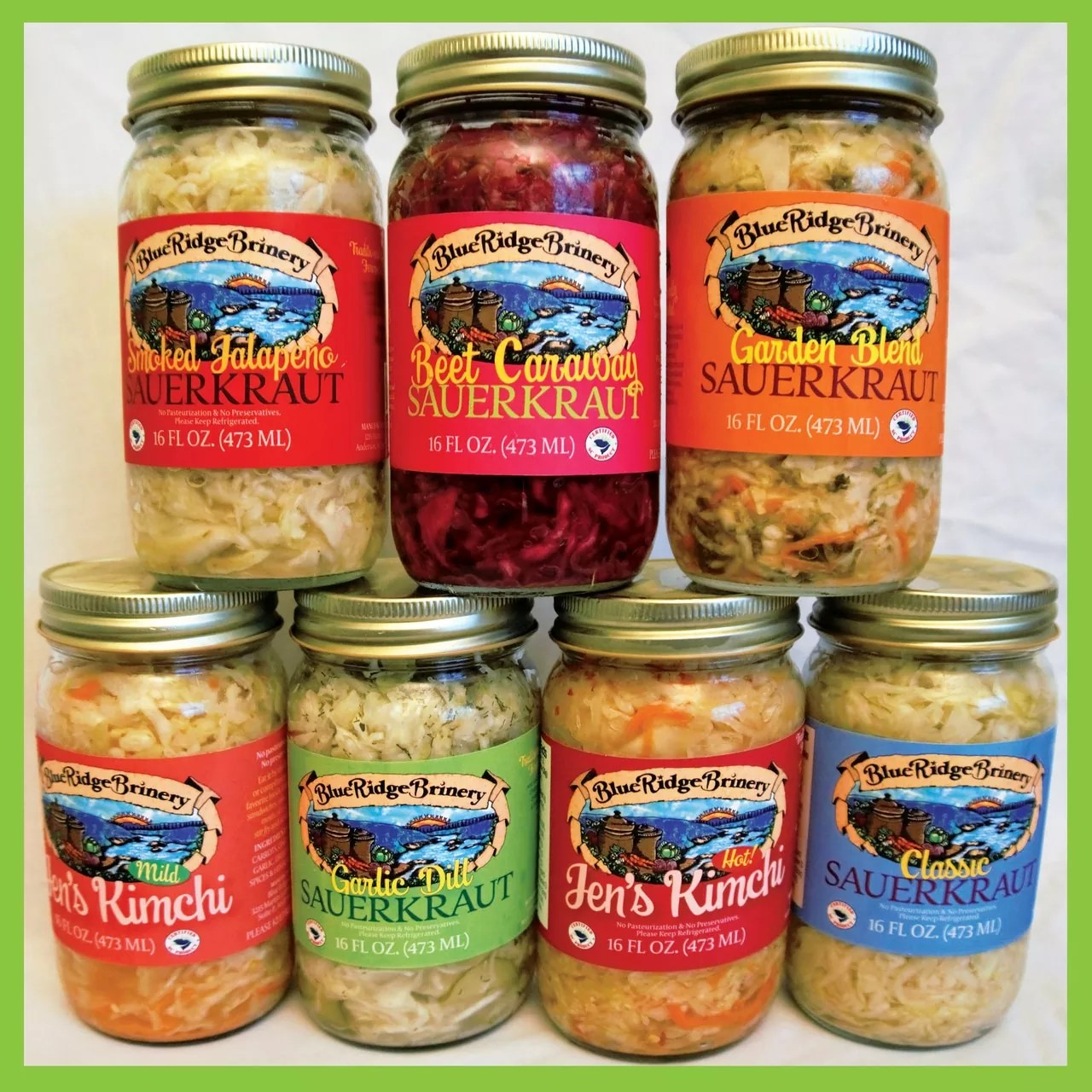 Blue Ridge Brinery Herbs and Spices
