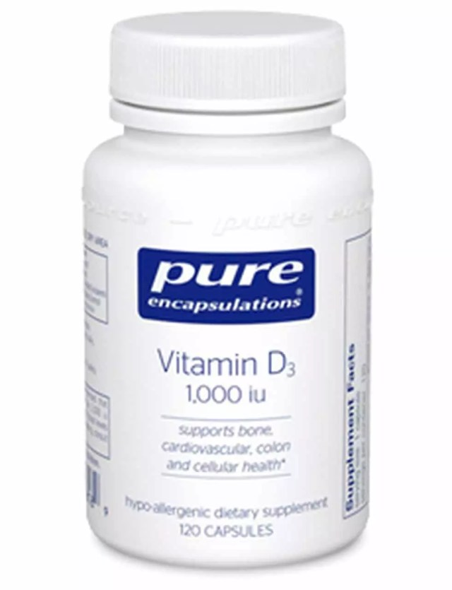Vitamin D3 5,000 IU Pure Encapsulations