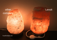 Levoit Salt Lamp Review - Reasons why I recommend it