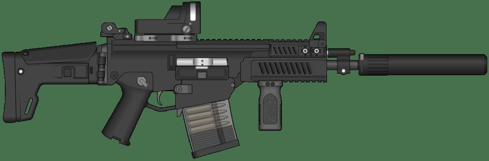medium resolution of assault rifle clipart