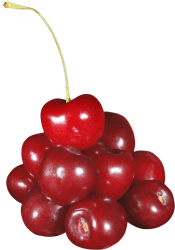 cherries cherrys transparent fruits pile purepng library food