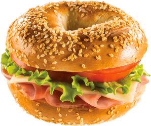 bagel delicious transparent sandwich bagels metro purepng food
