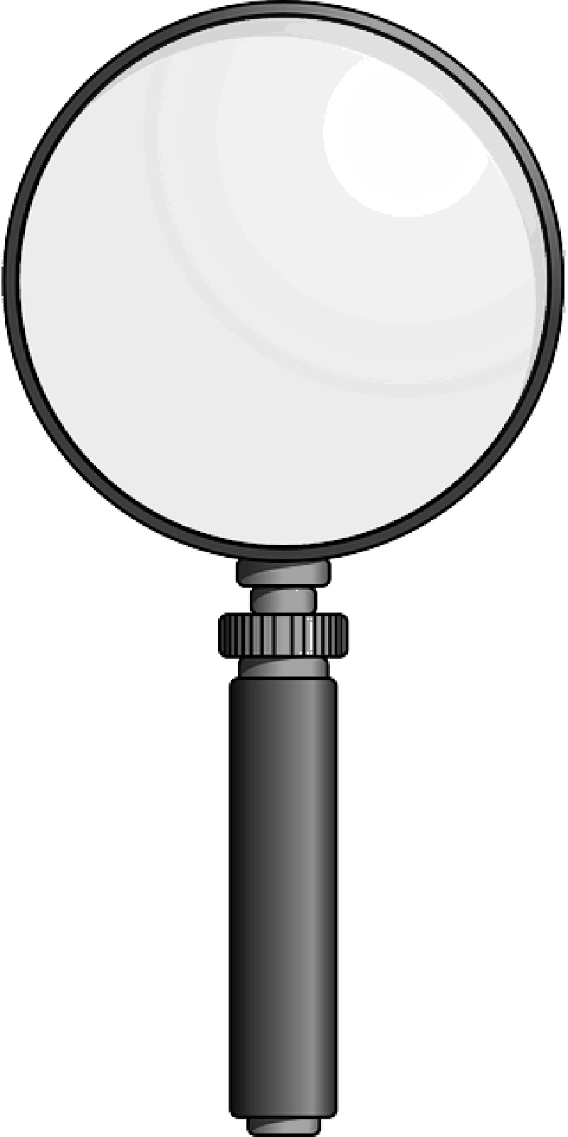 hight resolution of magnifying glas clipart free