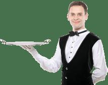 Waiter Transparent