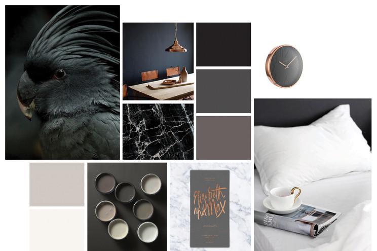 Dark colour pallet blog post