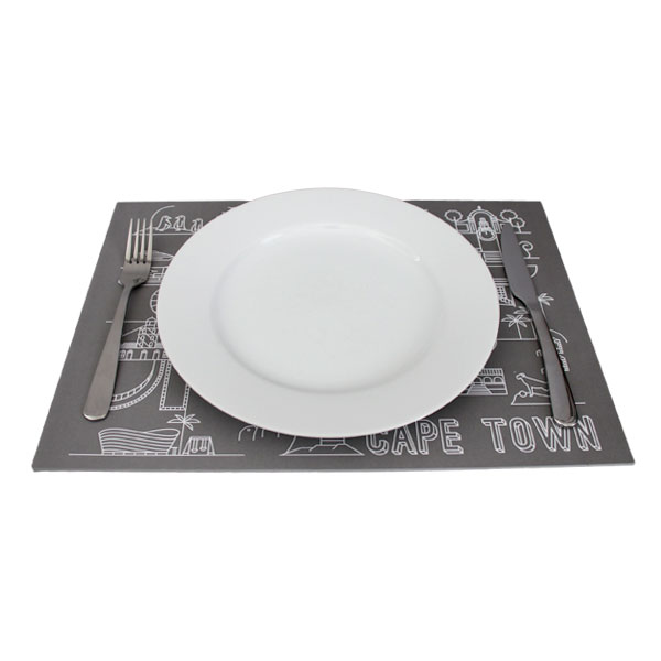 Pure Designer Products Cape Town illustration design disposable placemats