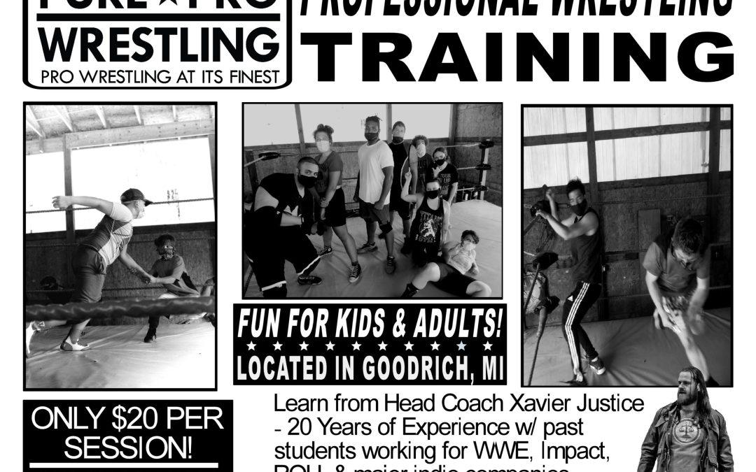 Pro Wrestling Training in October