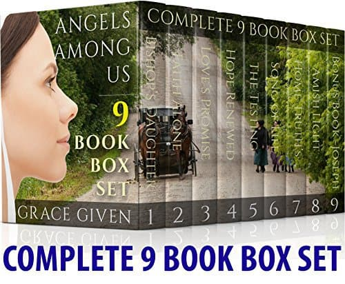 AMISH ROMANCE Angels Among Us Complete 9 Book Boxset By Grace Given