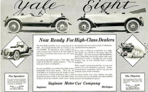 Yale Eight advertisement