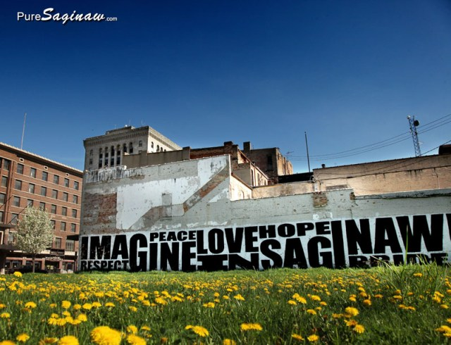 imagine mural saginaw michigan