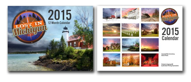 Michigan wall calendar