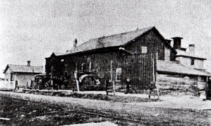 photo of the original 1866 brewery (courtesy of the Castle Museum)