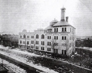 Photo of the Brewery on North Hamilton (courtesy of the Castle Museum)
