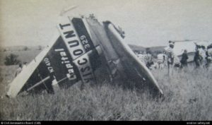 vickers viscount crash