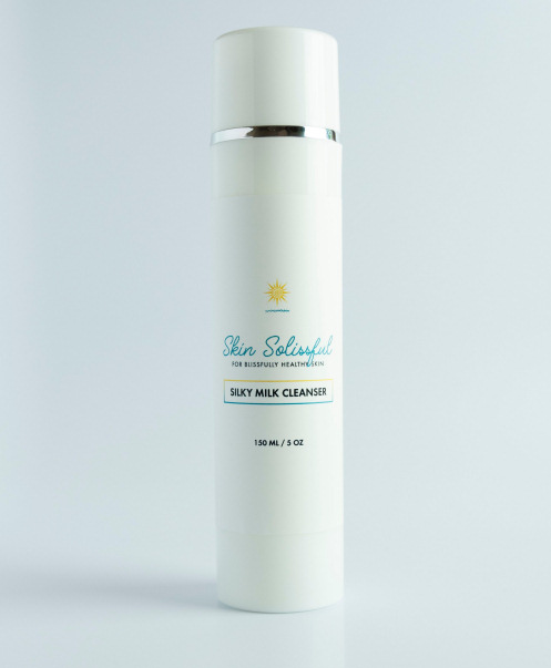 Skin Solissful Silky Milk Cleanser
