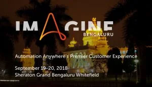 Imagine, Automation Anywhere – 2019