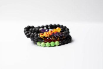 Lava Stone Bracelet Bundle