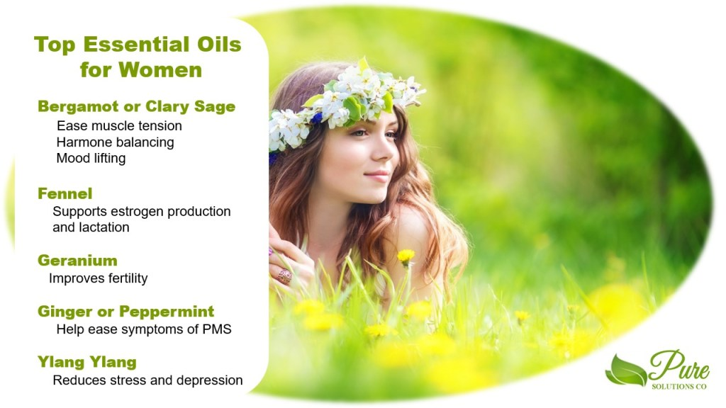 Top essential oils for women