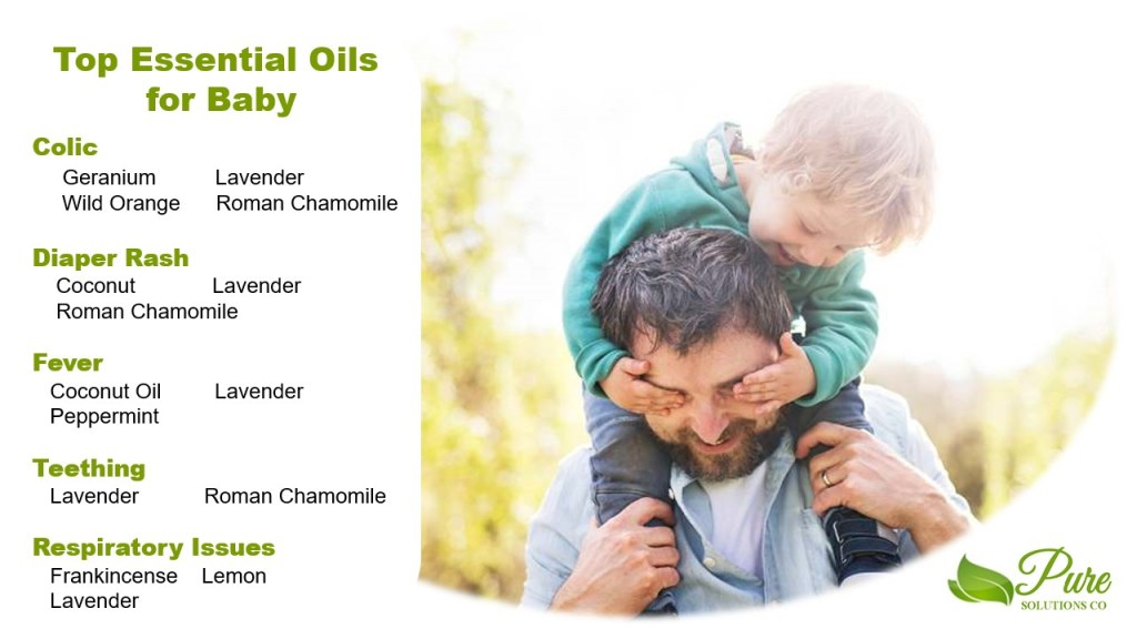 top essential oils for baby