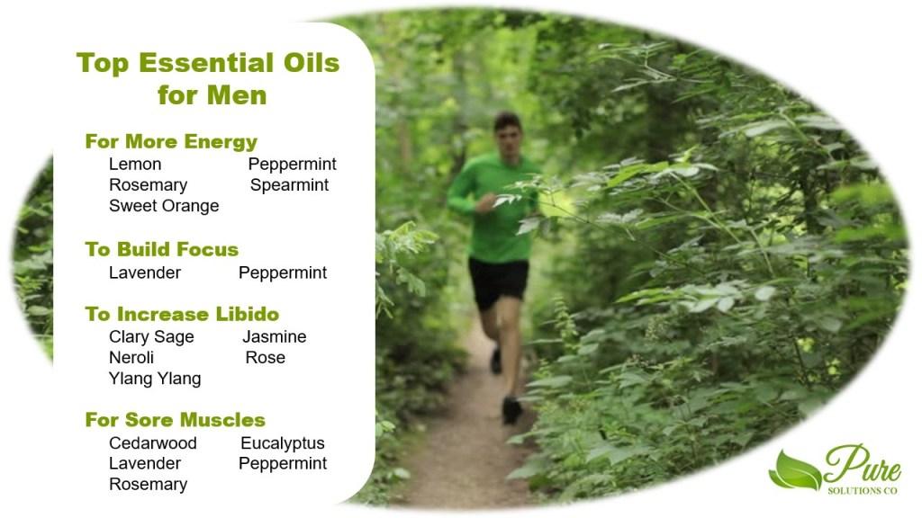 Top essential oils for men