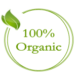 100% organic purity is our priority