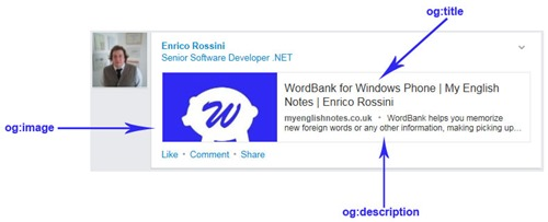 Example of OGData - OGData extension for BlogEngine.NET